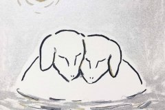 17.Sheep in Water ¥11,000( 額・税込)